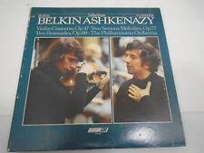 VINTAGE RECORD BELKIN ASHKENAZY BORIS SIBELIUS VLADIMIR CS 7181