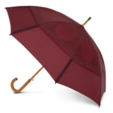 GustBuster Classic Automatic Windproof Walking Umbrella - Burgundy