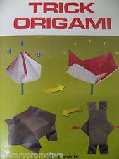 TRICK ORIGAMI By YOSHIHIDE MOMOTANI Paper Folding Japanese 9780870409295 VGC