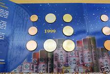 manueduc  BELGICA  1999  Las  8 Monedas  Nuevas  Sin Circular