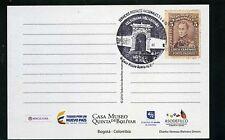 postal,marcofilia,'& #039;Semanas Bolivarianas'', Quinta Bolivar,- Rare Porte Pagado