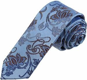 Dan Smith Patterned Slim Necktie Microfiber Skinny Tie Factory For Husband With