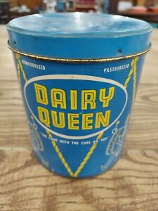 Dairy Queen Ice Cream Container