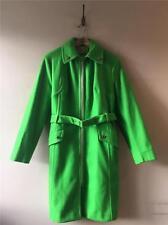 True Vintage 1960s Matz Bright Green Felt Wool Mod Jacket Coat UK12 Medium