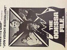m9-9m ephemera 1970/s film advert the odessa file jon voigt thriller