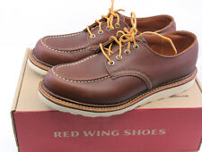 Red Wing 8109 Men's Work Oxford MAHOGANY ORO-IGINAL LEATHER US 9.5 D