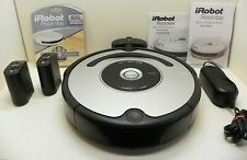 Silver & Black iRobot Roomba 530 Robotic Vacuum Cleaner with Virtual walls
