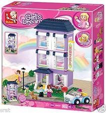 Sluban Girls Dream  B0531 Youth Hotel / 541 Pieces Brick Set Brand New In Box