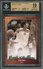2009-10 greats of the game #44 Ricky Rubio jazz rookie card (Pristine) Bgs 10