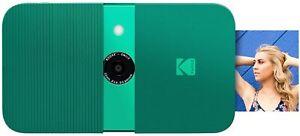 KODAK Smile Instant Print Digital Camera (Green) New!!!