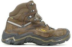 Keen Mens Durand II Mid WP Leather Outdoor Hiking Boots USA Made US 11 EU 44.5
