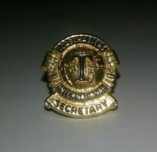 - Free Shipping Pre-owned Toastmasters Secretary Pin