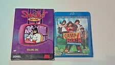 Space Ghost Coast to Coast - Vol. 1 USED (DVD, 2003, 2-Disc Set) + Camp Rock NEW