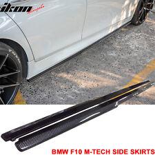 11-16 BMW F10 5-Series M-Tech M-Sport Only DP Style Side Skirts Carbon Fiber CF