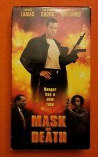 Mask of Death VHS CFP Home Video Lorenzo Lamas Billy Dee Williams Rae Dawn Chong