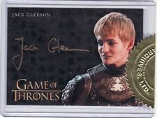 Game of Thrones Season 4 Jack Gleeson as Joffrey Baratheon Incentive Auto Card