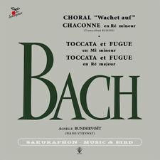 Agnelle Bundervoet plays BACH (JAPAN CD) piano Sakuraphon