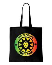 Jah Is Mighty Reggae Shoulder Bag - Rasta Bob Marley Lion Of Judah