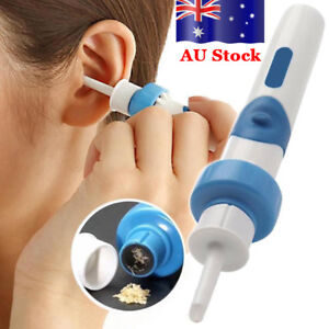 Electric Ear Wax Removal Vacuum Cleaning Cleaner Device Earpick Painless Tool HG