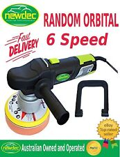 "POLISH TOOLS DUAL ACTION RANDOM ORBITAL POLISHER / BUFFER 150MM 6"" 9MM ORBIT"
