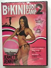 Jeanette Jenkins The Hollywood Trainer 'Bikini Bootcamp 2' DVD (2014) BRAND NEW