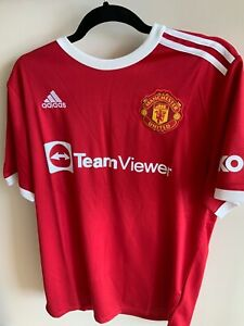 Manchester United Home Style Shirt 21/22 season In Extra Large