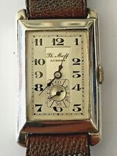 Exceptional, 1930's Wristwatch -  Vintage Rectangular. Unworn. All Original.