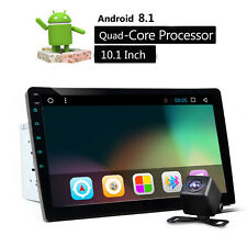 10.1inch Android 8.1 Car Bluetooth Stereo Radio Double 2 DIN Player GPS Navi CAM