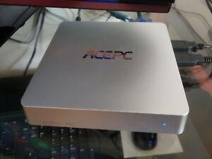 Mini PC,  ACEPC T11 + AOC Monitor + Zubehör