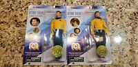 2018 MEGO LT. SULU & CHEKOV  STAR TREK TOS  TARGET EXCLUSIVE IN HAND SET