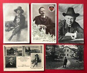 5 x AK KRIEGLACH in Österreich um 1930 Peter Rosegger mit Villa   ( 90099