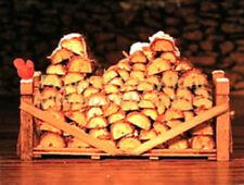 Snow Village Dept 56 Village Log Pile! 52665 AmaZiNg Mint! Perfect! Wow!