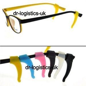 Temple Hook Tip Glasses / Spectacles Ear Grip Anti Slip Non Holder **UK Seller**