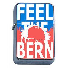 Bernie Sanders D2 Flip Top Oil Lighter Case Cigarette Smoking Windproof