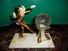 New listing art deco dancing lady lamp