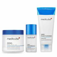 Medicube Zero Line 3 set Pore Pad serum Cleanser Pore Tightening K-cosmetic