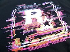 $ $ $ Rockstar Games Glitch T-shirt xxxl Nuevo $ $ $ Gta Red Dead Max Payne $ $ $
