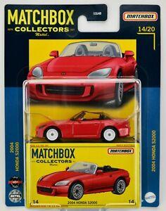 2021 Matchbox Collectors #14 2004 Honda S2000 NEW FORMULA RED / MOC