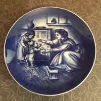 Vintage 1972 Bareuther Mother's Day Plate Bavaria Germany