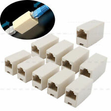 10pcs Ethernet Lan Cable Joiner Coupler Connector Network RJ45 Cable CAT 5 5E RF