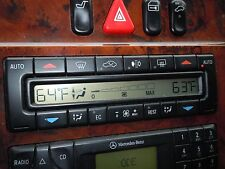 MERCEDES W210 97-03 E300 E320 E430 E55 A/C HEAT DIGITAL CLIMATE CONTROL UNIT
