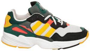 Adidas Yung-96 Green Gold, Orange Size 8 1/2 USA