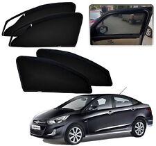 Zipper Magnetic Sun Shades Car Curtain For - Hyundai Verna Fluidic