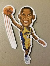 RARE Reggie Miller Vinyl Sticker Pacers LEGEND