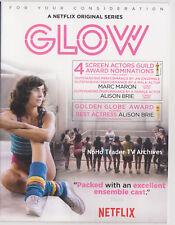 2018 DVD FYC GLOW NETFLIX SEASON 1 Gorgeous Ladies of Wrestling Alison Brie oop