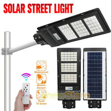 New listing 120W Led Solar Street Light 9000000Lum Road Lamp Outdoor Garden With Pole&Remote