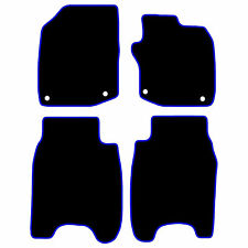 Honda Civic Tailored Car Floor Mats 2008-12 - Black With Blue Trim