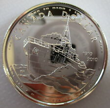 2010 CANADA 100th ANNIVERSARY OF CANADIAN NAVY BU SILVER DOLLAR COIN