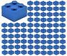 ☀️100x NEW LEGO 2x2 DARK BLUE Bricks (ID 3003) BULK Parts Agents City Building