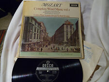 "MOZART ""COMPLETE WIND MUSIC VOL.1"". BRYMER. DECCA SXL 6050, WBg ED1. LP"